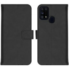 iMoshion Luxe Booktype Samsung Galaxy M31 - Zwart