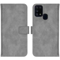 iMoshion Luxe Booktype Samsung Galaxy M31 - Grijs