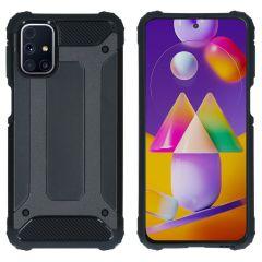 iMoshion Rugged Xtreme Backcover Samsung Galaxy M31s - Zwart