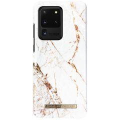iDeal of Sweden Fashion Backcover Samsung Galaxy S20 Ultra - Carrara Gold