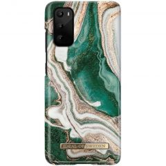 iDeal of Sweden Fashion Backcover Samsung Galaxy S20 - Golden Jade Marble
