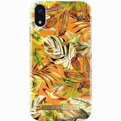 iDeal of Sweden Fashion Backcover iPhone Xr - Mango Jungle