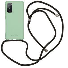 iMoshion Color Backcover met koord Samsung Galaxy S20 FE - Groen