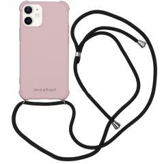 iMoshion Color Backcover met koord iPhone 12 Mini - Roze