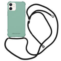 iMoshion Color Backcover met koord iPhone 12 Mini - Groen