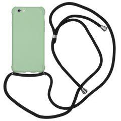 iMoshion Color Backcover met koord iPhone 6 / 6s - Groen