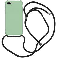 iMoshion Color Backcover met koord iPhone 8 Plus / 7 Plus - Groen