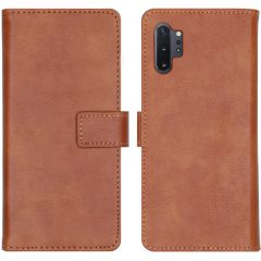 iMoshion Luxe Booktype Samsung Galaxy Note 10 Plus - Bruin