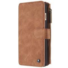 CaseMe Luxe 2 in 1 Portemonnee Booktype iPhone 6 / 6s - Bruin