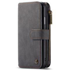 CaseMe Luxe 2 in 1 Portemonnee Booktype iPhone 11 - Zwart