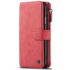 CaseMe Luxe 2 in 1 Portemonnee Booktype iPhone 11 Pro Max - Rood