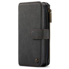 CaseMe Luxe 2 in 1 Portemonnee Booktype iPhone 12 Pro Max - Zwart