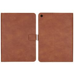iMoshion Luxe Tablethoes iPad (2018) / (2017) - Bruin