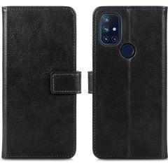 iMoshion Luxe Booktype OnePlus Nord N10 5G - Zwart