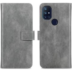 iMoshion Luxe Booktype OnePlus Nord N10 5G - Grijs