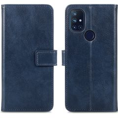 iMoshion Luxe Booktype OnePlus Nord N10 5G - Donkerblauw