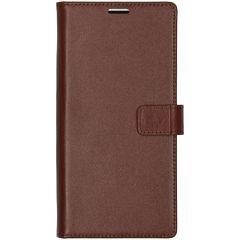 Valenta Leather Booktype Samsung Galaxy Note 10 Plus - Bruin