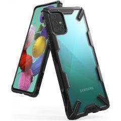 Ringke Fusion X Backcover Samsung Galaxy A51 - Zwart