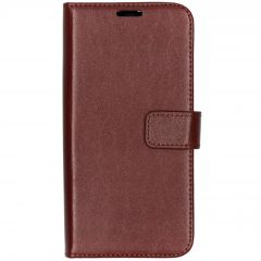 Valenta Leather Booktype Samsung Galaxy A40 - Bruin