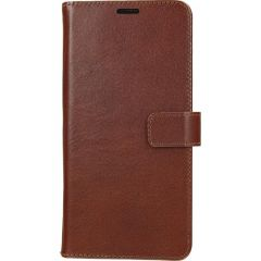 Valenta Leather Booktype Samsung Galaxy A41 - Bruin