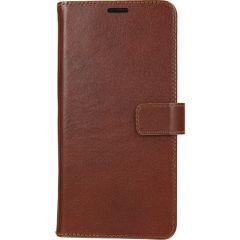 Valenta Leather Booktype Samsung Galaxy A51 - Bruin