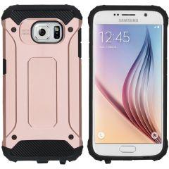 iMoshion Rugged Xtreme Backcover Samsung Galaxy S6 - Rosé Goud
