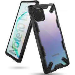 Ringke Fusion X Backcover Samsung Galaxy Note 10 Lite - Zwart
