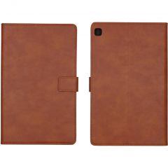iMoshion Luxe Tablethoes Samsung Galaxy Tab S6 Lite - Bruin