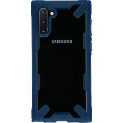 Ringke Fusion X Backcover Samsung Galaxy Note 10 - Blauw