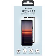 Selencia Gehard Glas Premium Screenprotector Sony Xperia 5 II