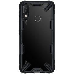 Ringke Fusion X Backcover Huawei P Smart (2019) - Zwart