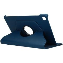 iMoshion 360° draaibare Bookcase Galaxy Tab S6 Lite - Donkerblauw