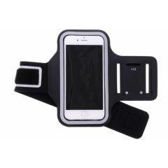 Zwart sportarmband iPhone SE (2020) / 8 / 7 / 6(s)