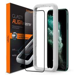 Spigen AlignMaster Full Cover Screenprotector iPhone 11 Pro Max