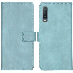 iMoshion Luxe Booktype Samsung Galaxy A7 (2018) - Lichtblauw