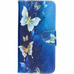 Design Softcase Booktype Samsung Galaxy A7 (2018)