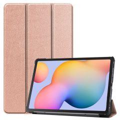 iMoshion Trifold Bookcase Samsung Galaxy Tab S6 Lite - Rosé Goud