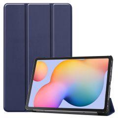 iMoshion Trifold Bookcase Samsung Galaxy Tab S6 Lite - Donkerblauw