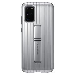 Samsung Protective Standing Backcover Galaxy S20 Plus - Zilver