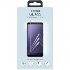 Selencia Gehard Glas Screenprotector Samsung Galaxy A8 (2018)