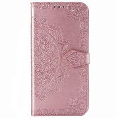 Mandala Booktype Xiaomi Poco F2 Pro - Rosé Goud