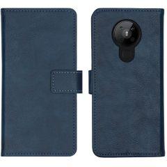 iMoshion Luxe Booktype Nokia 5.3 - Donkerblauw