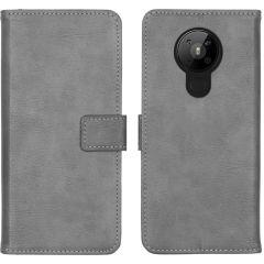 iMoshion Luxe Booktype Nokia 5.3 - Grijs