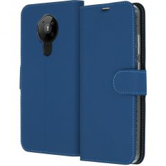 Accezz Wallet Softcase Booktype Nokia 5.3 - Donkerblauw