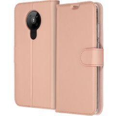 Accezz Wallet Softcase Booktype Nokia 5.3 - Rosé Goud