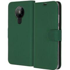 Accezz Wallet Softcase Booktype Nokia 5.3 - Groen