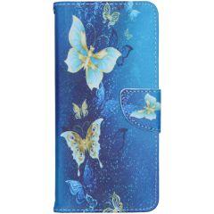Design Softcase Booktype Nokia 5.3 - Vlinders