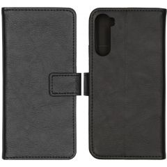 iMoshion Luxe Booktype OnePlus Nord - Zwart