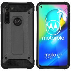 iMoshion Rugged Xtreme Backcover Motorola Moto G8 Power - Zwart