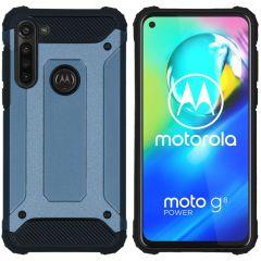 iMoshion Rugged Xtreme Backcover Motorola Moto G8 Power - Donkerblauw
